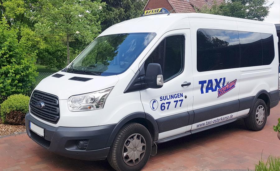 Taxi-0301-Sulingen,-Ford-Transit-mit-Rollstuhllift,-9-Sitzer